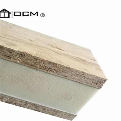 Structural insulated OSB Polyurethane sandwich panels