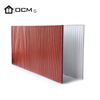 Wood Grain Type Exterior Wall Siding